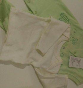 Комплект ползунки-штанишки