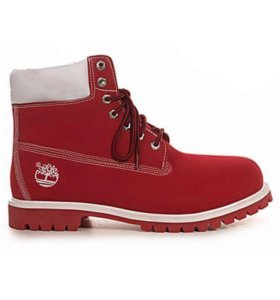 Timberland 6 Inch Boots Red (36-40)