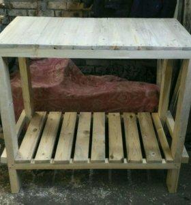 Стол деревянный (верстак)