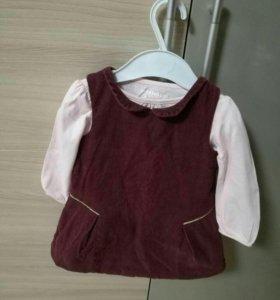 Платье детское, сарафан