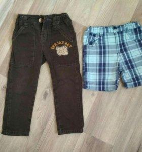 Джинсы, шорты + кофты