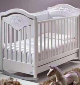 Дет кроватка-качалка