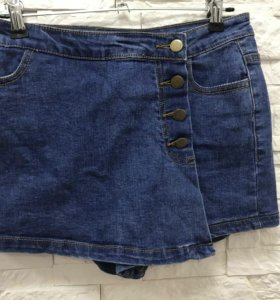 Юбка - шорты из джинсы
