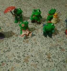 Лягушки из серии Le Simpatiche Ranopla