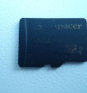 Карта памяти micro sd 64GB 10 КЛАСС