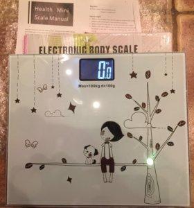 Весы напольные-кухонные, электронные.