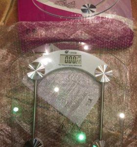 Весы стеклянные для тела