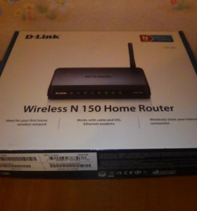 Маршрутизатор D-Link Wireless N 150