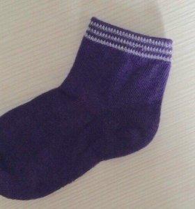 Новые носки 16 см , на 4-6 лет