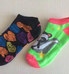 Новые носки 17 см , на 5-7 лет
