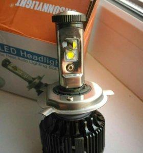 Лампа светодиодная 2шт