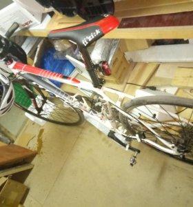 Велосипед MOSSO 20 скоростей shimano 26+28 d колес