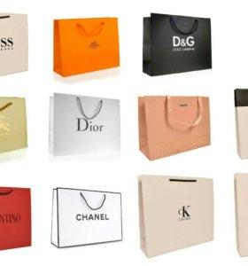 Пакеты брендовые