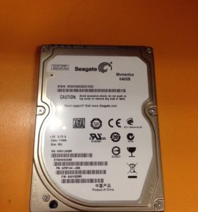 Жесткий диск HDD Seagate Momentus 640Gb 5400RPM