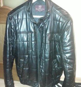 Куртка кожзам на 48-50
