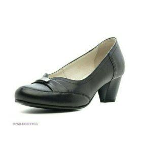 Туфли кожаные новые, р.41