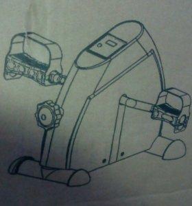Велотренажёр компактный