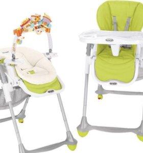 Детский стул для кормления brevi