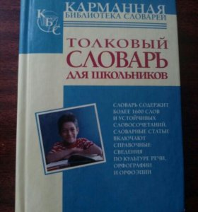 Карманный толковый словарь