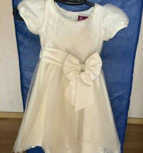 Нарядное платье 2-3