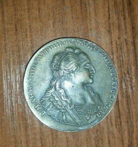 Монета Анна 1735