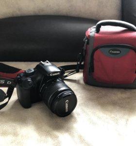 Фотоаппарат Canon EOS 1100D зеркальный