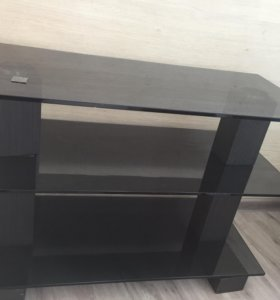 Стол тумба под телевизор Толстое Стекло