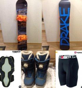 Сноуборд ботинки защита