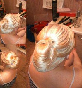 Прически и укладки волос любой длины Екатеринбург