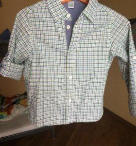 Рубашка на мальчика 18-24 мес