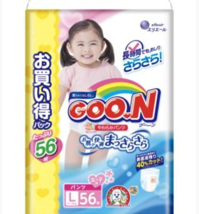 Подгузники Трусики для девочек Goon