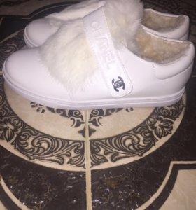 Ботинки- кроссовки CHANEL зимние ❄️