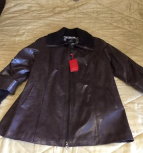 Новая куртка из экокожи
