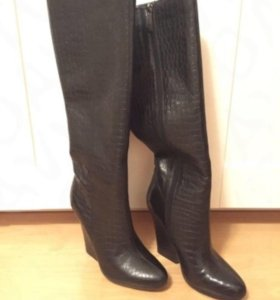 Сапожки женские кожаные НОВЫЕ