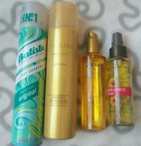 Спрей Shiseido сухой шампунь Batiste масло волос