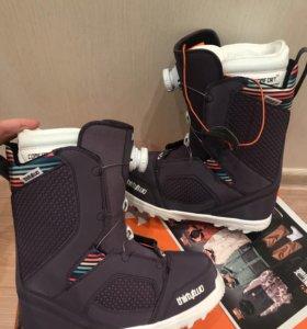 Новые ботинки для сноуборда