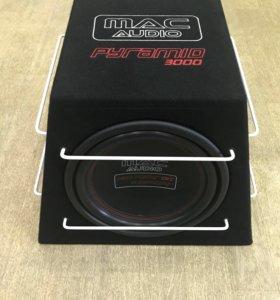 Авто Сабвуфер MAC Audio Piramid 3000 Новый!!!