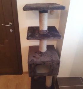 Большой дом когтеточка для кошек