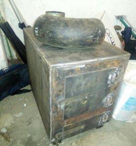 Печь гаражная