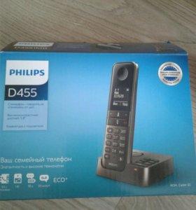 Радиотелефон Philips D455