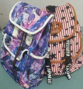 Рюкзак текстиль в ассортименте