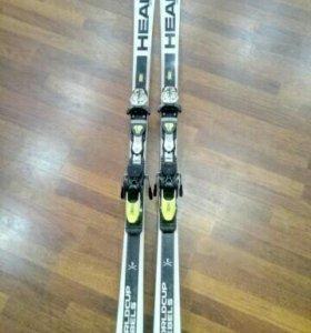 Горные лыжи для слалом-гиганта
