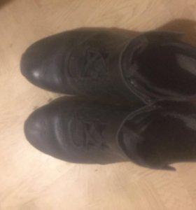 Кожаные ботинки adidas