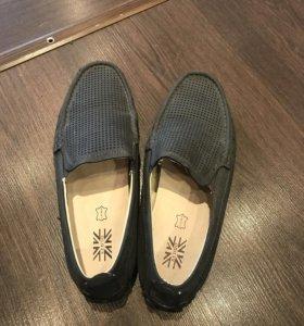 Туфли - мокасины для мальчика размер 35