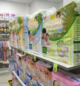 Японские подгузники Моми - мамы рекомендуют!