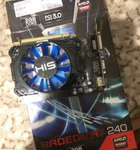 Видеокарта Radeon r7 240 2G
