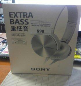 Наушники MP-3 Nokia Sony MDRl-XB450AR