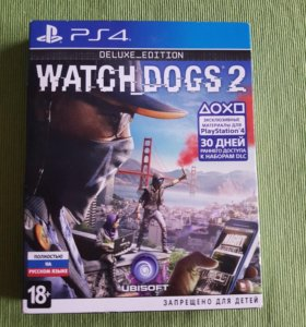 Игра Watch Dogs 2 Deluxe Edition PS4