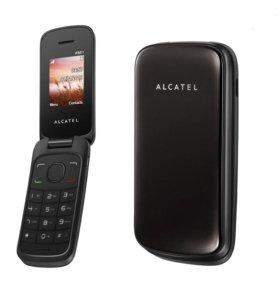 Сотовый телефон-раскладушка Alcatel 1030D