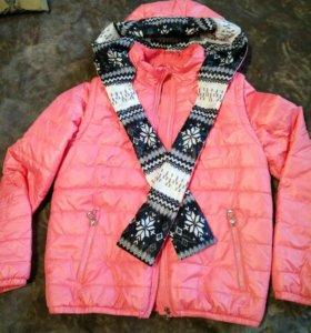 Куртка-жилет женская,весна-осень